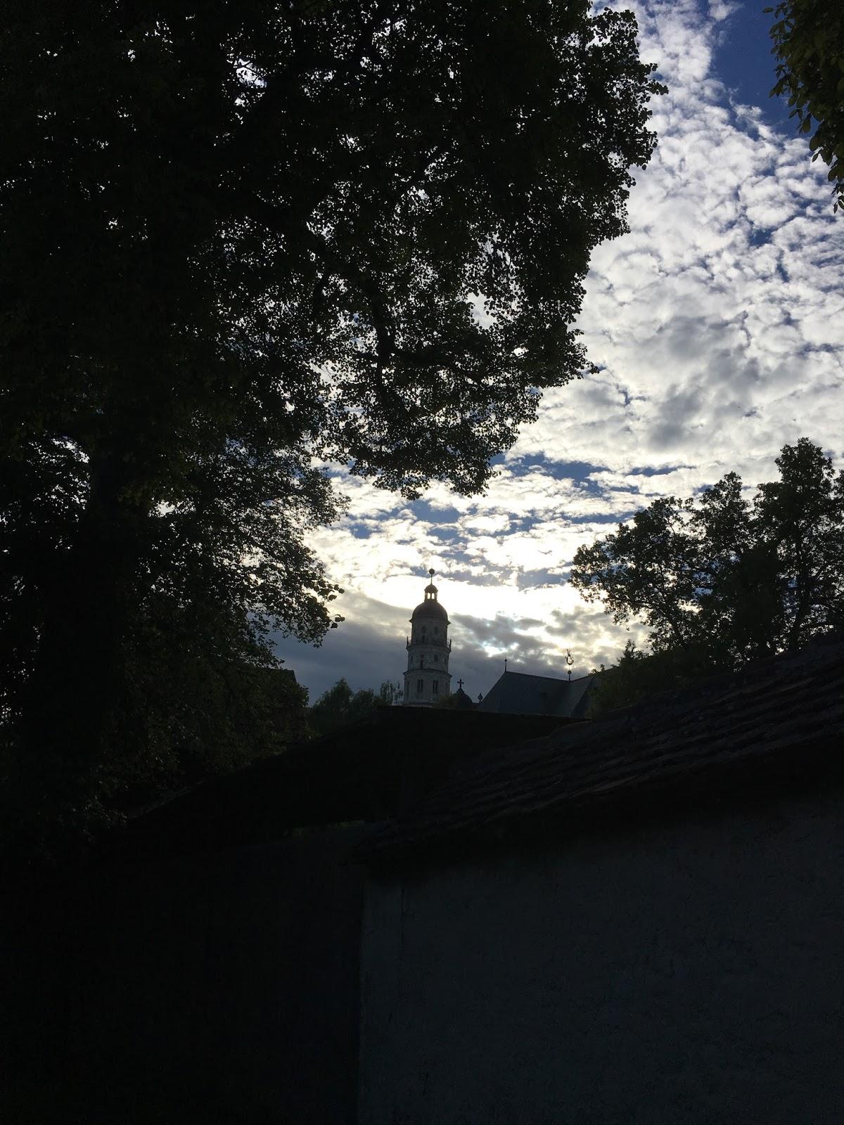 Yoga im Kloster