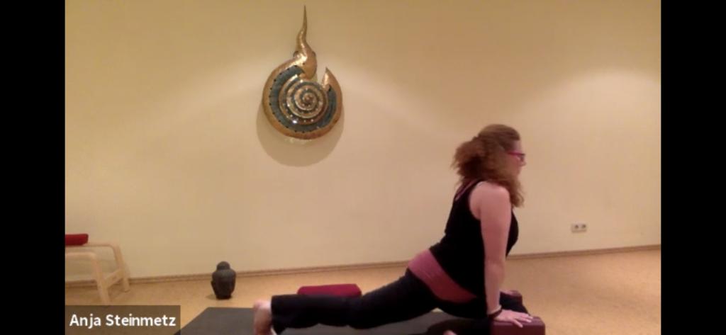 Yoga per Livestream